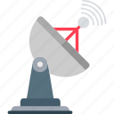 radar, satellite, satellite antenna, satellite dish, signals radar icon