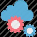 cloud application, cloud computing, cloud configure, cloud preferences, cloud settings icon
