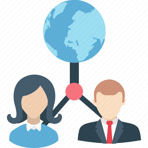 business, business network, collaboration, international, worldwide icon