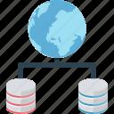 global lan, hosting, global database, worldwide sharing, global server