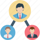 business team, leadership, organization, team, team leader icon