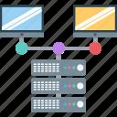 computer sharing, hosting server, internet sharing, client server