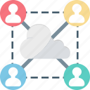 cloud user, cloud, remote employees, outsource, remote infrastructure