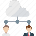 cloud user, remote worker, remote employees, remote infrastructure, cloud outsource