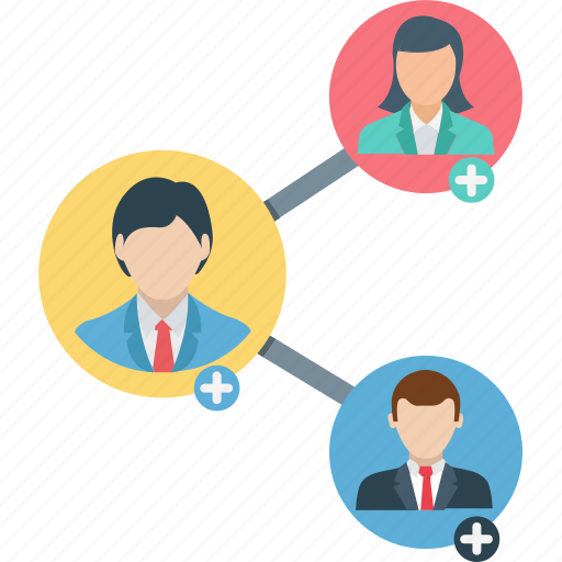 add people, add person, affiliate marketing, internet marketing, referral program icon