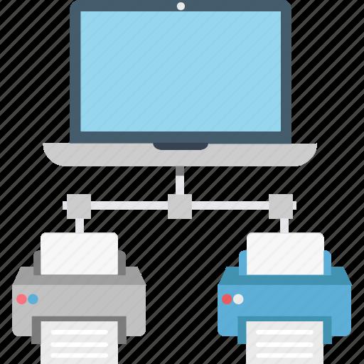 client, instant printing, printer, server, share printer icon