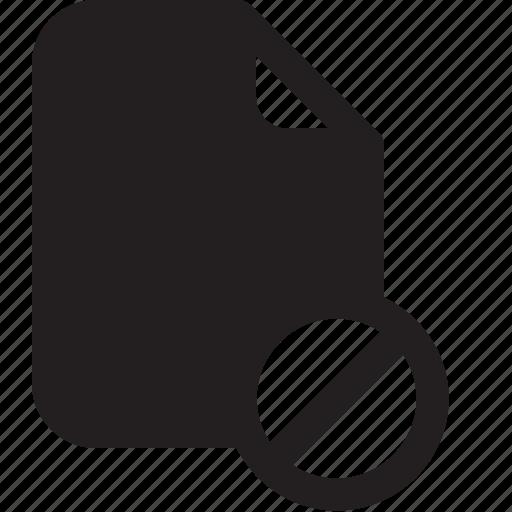 block, document, file, important, memo, paper icon