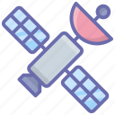 astronomy, satellite dish, space station, spacecraft, spaceship icon