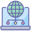 global connection, global network, online connection, online network, worldwide network icon