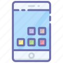 cellular phone, mobile app, mobile phone, smartphone app, user interface icon