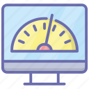 screen speed, speed test, web speed, website speed, website test icon