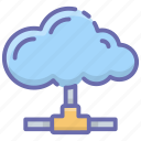 cloud computing, cloud connected, cloud connection, cloud network, cloud technology icon