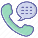 call communication, call conversation, chat bubble, phone call, phone chat icon