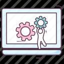 laptop configuration, laptop setting, system configuration, system management, system setting icon