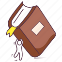 archives, book, educational book, library, novel, reading book icon
