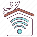 home automation, house protection, house security, smart home, smart house icon