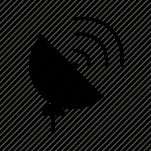 antenna, dish, radar, satellite communication, signal icon