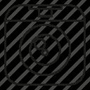 camera, lens, record, shutter icon