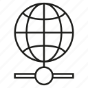 world, globe, connect, network