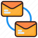 connecting, email, mail, message, letter, envelope, chat