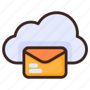 cloud, mail, email, weather, message, letter, envelope