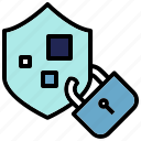 encryption, privacy, private, security icon