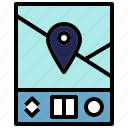 global, gps, location, positioning icon