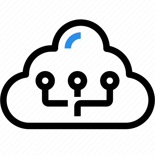 Cloud, connect, data, database, network, online, technology icon - Download on Iconfinder