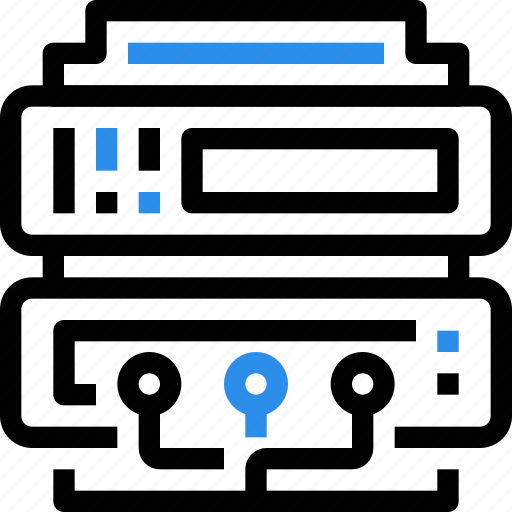 connect, data, database, internet, network, server, technology icon