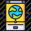 app, connection, internet, online, smartphone, website icon