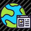 app, database, develop, global, internet icon