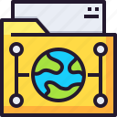 cloud, data, document, file, network, storage