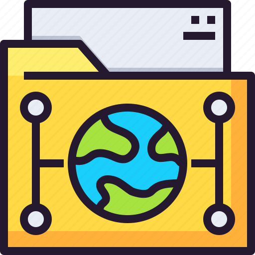 cloud, data, document, file, network, storage icon
