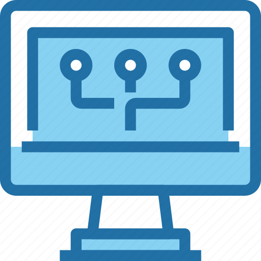 computer, connect, network, online, technology icon