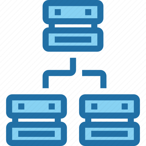 connect, data, database, network, sever, technology icon