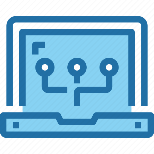 computer, connect, labtop, network, technology icon
