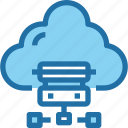 cloud, connect, data, database, network, storage icon