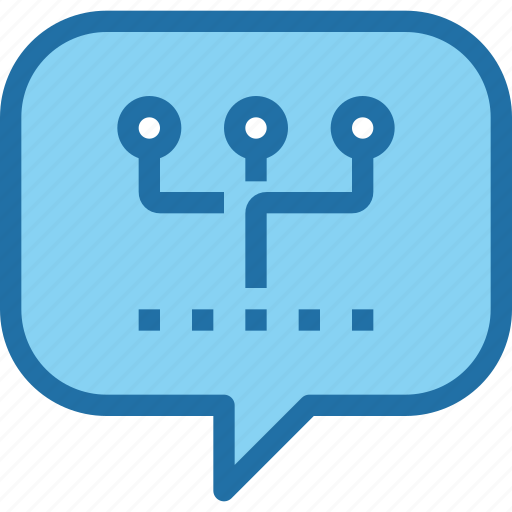 communication, connect, network, speech bubble icon