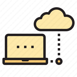 access, cloud, connect, database, network icon