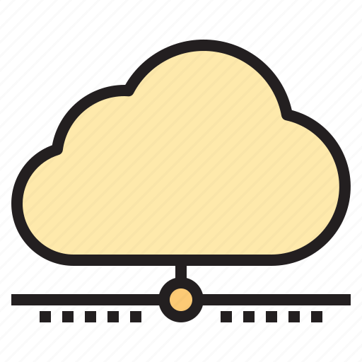 cloud, connect, connection, database, network icon