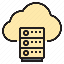 cloud, connect, database, network icon