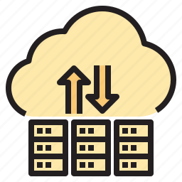 cloud, connect, database, hosting, network icon