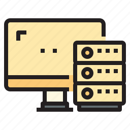 cloud, connect, database, network, server icon