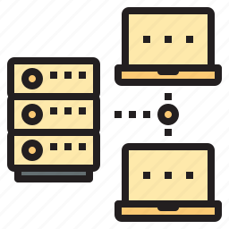 cloud, connect, database, network, workflow icon