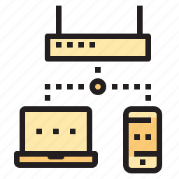 access, cloud, connect, database, network, wireless icon