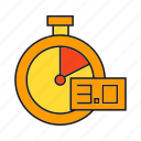 fast, gauge, measure, scale, speedometer icon