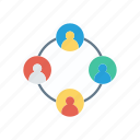 connection, group, connect, network icon