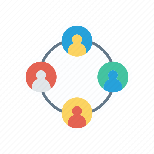 connect, connection, group, network icon