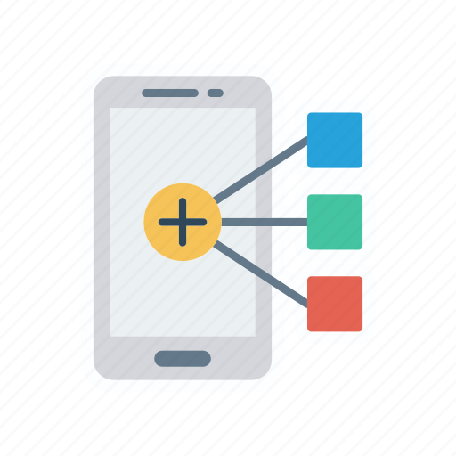 connect, connection, mobile, network icon