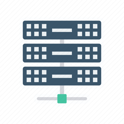 database, datacenter, server, storage icon